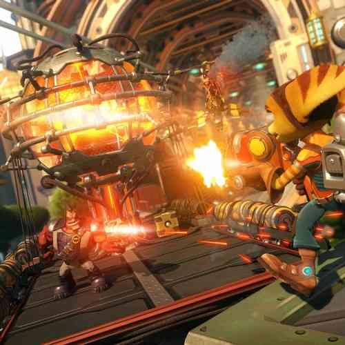 Ratchet and Clank Shooting
