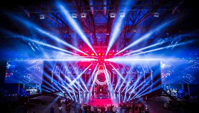 Wargaming's The Grand Finals 2016 Lights