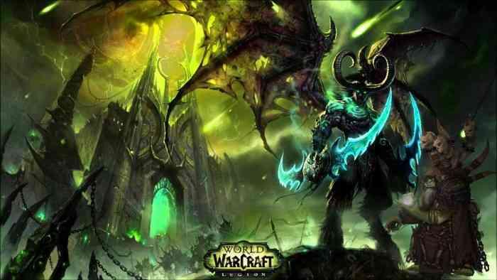 World of Warcraft Legion Screen