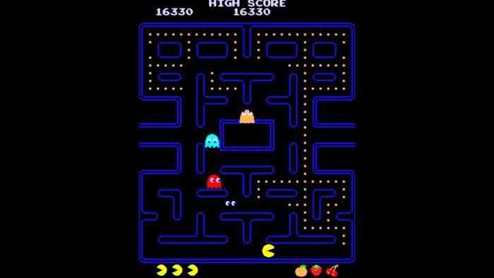 Pac-Man classic screenshot