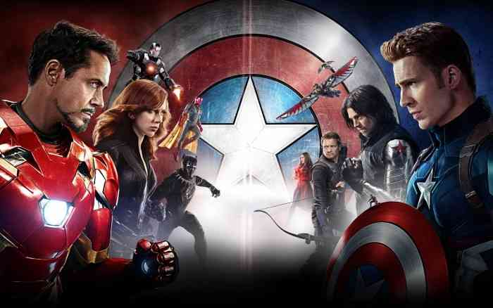 Captain America: Civil War Review Face Off