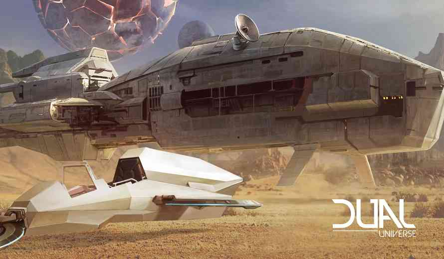 Sci-Fi MMO Dual Universe Demonstrates Players' True Building Freedom