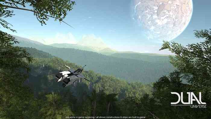 Dual Universe Announcement Top Screen