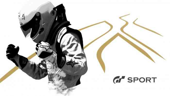 Beta for Gran Turismo Sport Top Screen