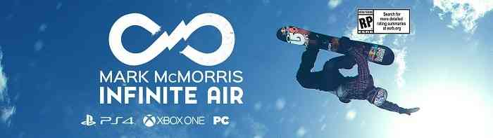 Maximum Games E3 2016 Lineup Mark McMorris Infinite Air
