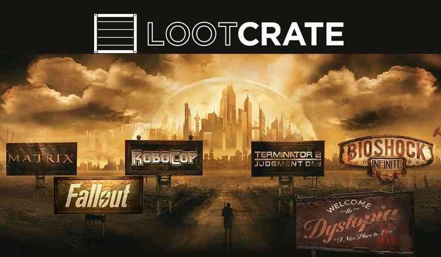 June 2016 Loot Crate Theme is DYSTOPIA - Fallout & Bioshock Loot