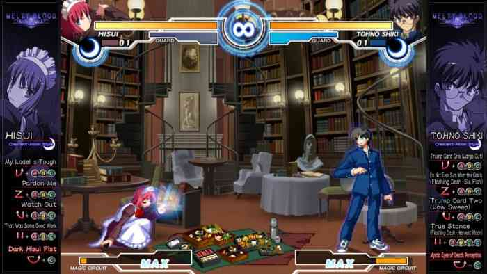 Melty Blood Actress Again Current Code Image 1