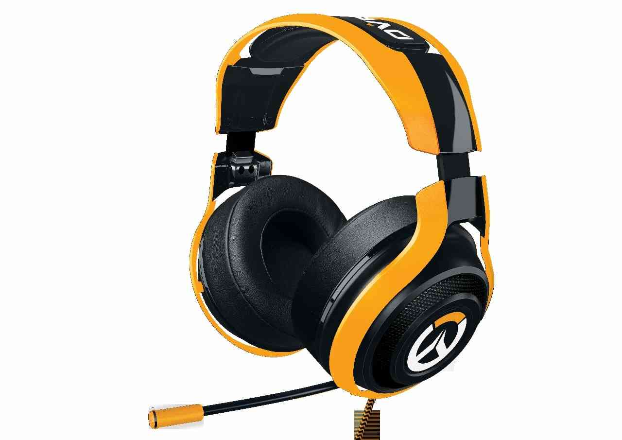 New Razer Overwatch Headset, Mouse and Keyboard All Look Amazing