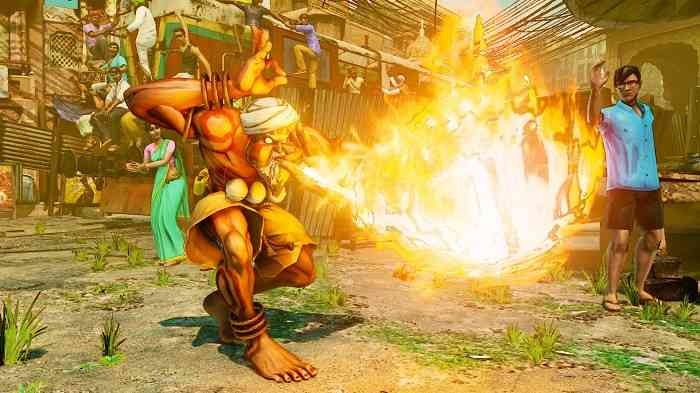 Street Fighter V Version 1.03 Dhalsim