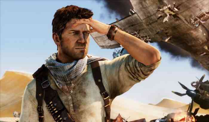 Uncharted movie series