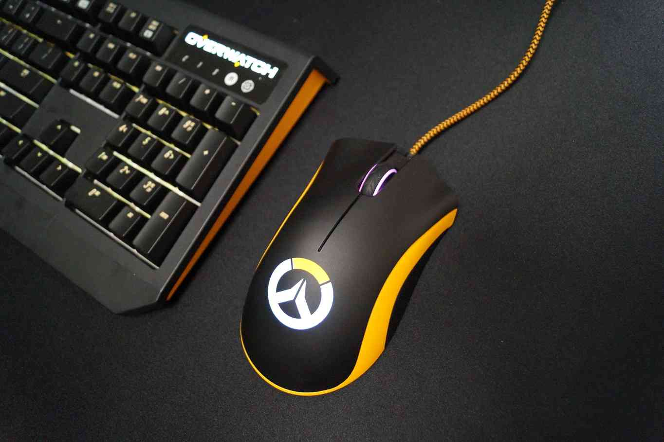 New Razer Overwatch Headset Mouse And Keyboard All Look