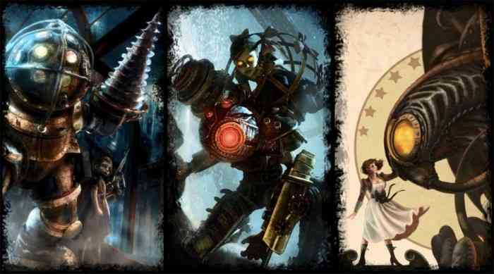 BioShock The Collection Top Screen