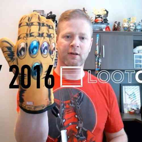 May 2016 Loot Crate Unboxing Feature