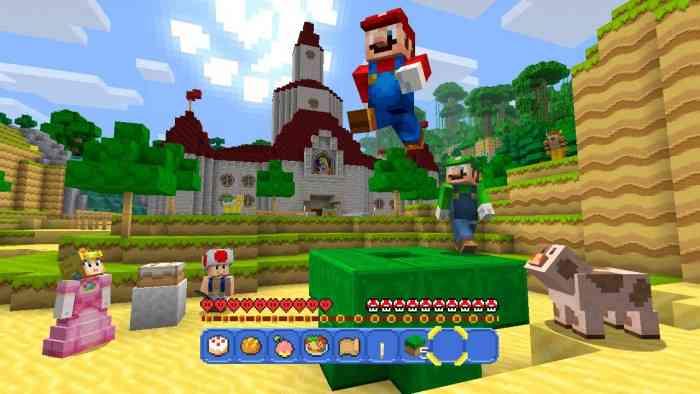 Minecraft: Wii U