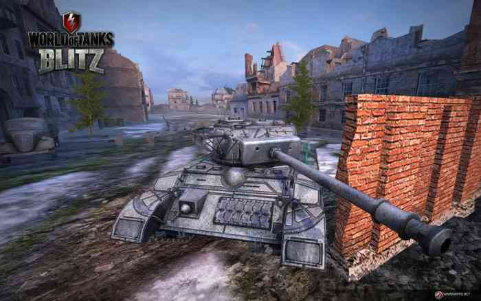 World of Tanks Blitz 2.11 Screen