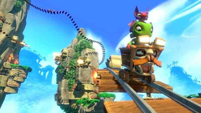Yooka-Laylee E3 Trailer Top Screen
