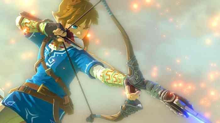 Legend of Zelda Breath of the Wild HERO