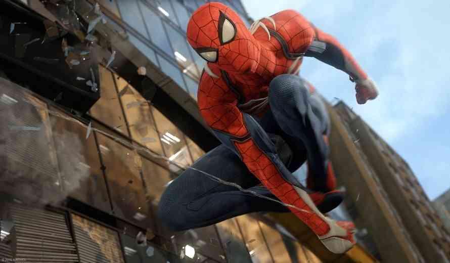 Spiderman PS4 QTE