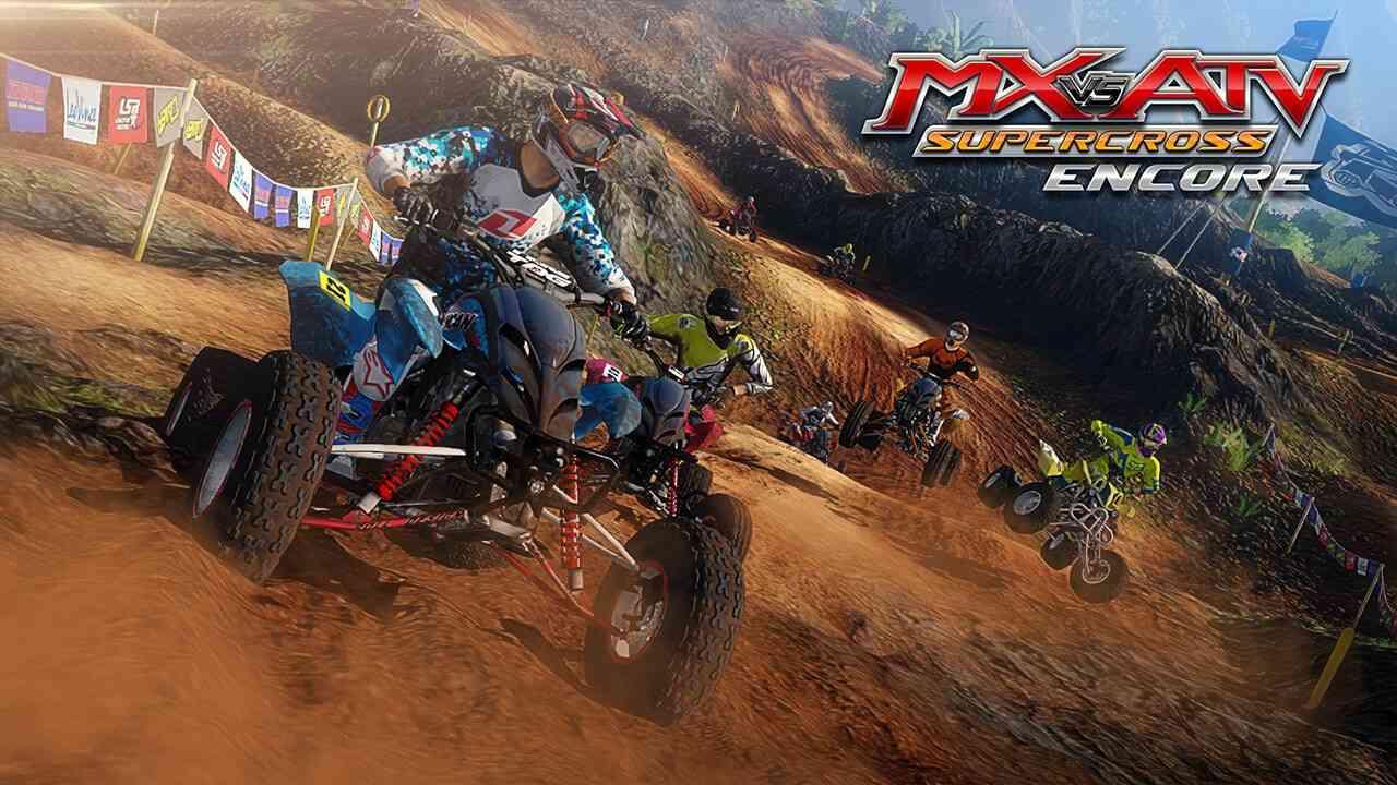 mx  atv supercross encore front flips  xbox