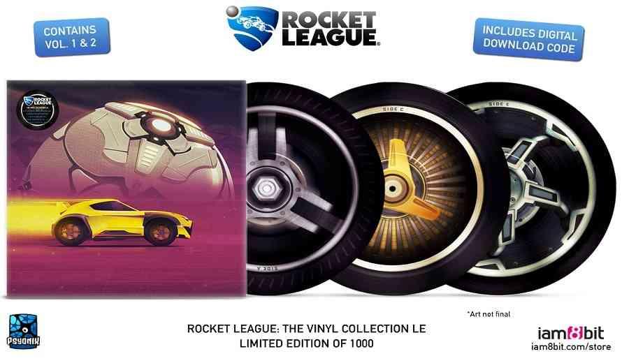 Rocket League Releases Gorgeous Vinyl Soundtrack Collection