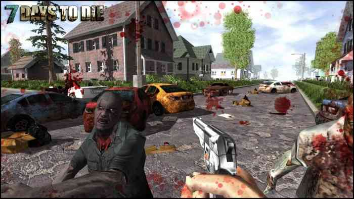 how to kill epic zombies in 7 days to die