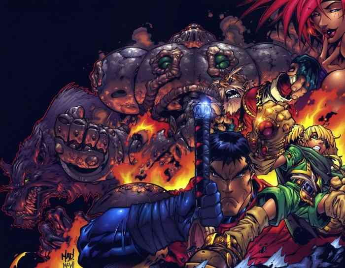 Battle Chasers Nightwar Characters