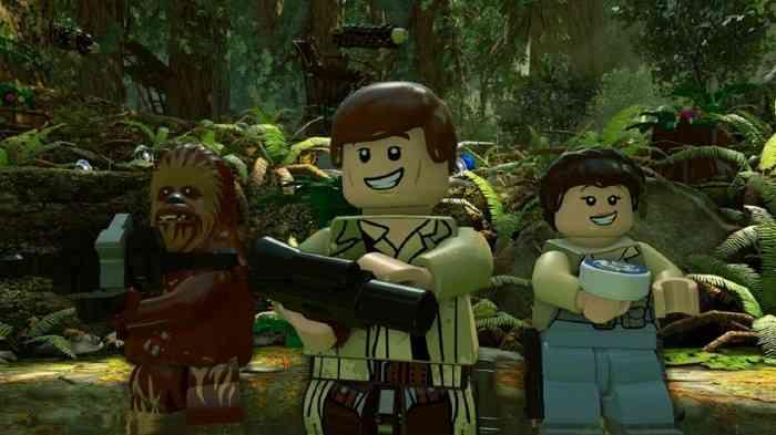 LEGO Star Wars Force Awakens Screen Top Screen