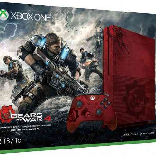 Limited Edition Gears of War 4 Xbox One S Bundle