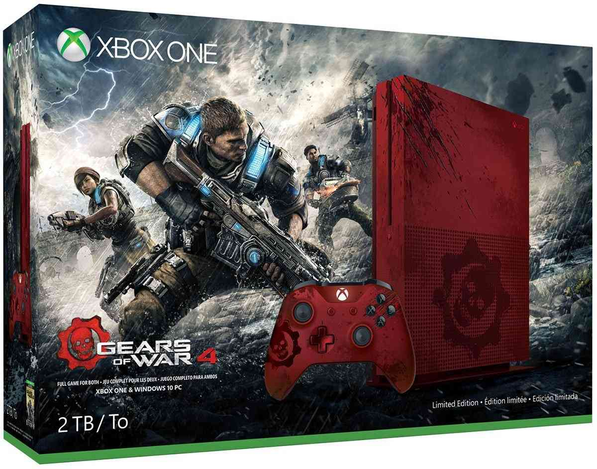 New Video Shows How The Stunning Gears of War 4 Xbox One S Was Made & Reveals Sounds
