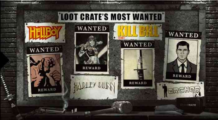 August 2016 Loot Crate Anti-Hero