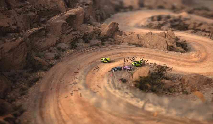 Slick Looking Mantis Burn Racing Coming to PS4, Xbox One and PC