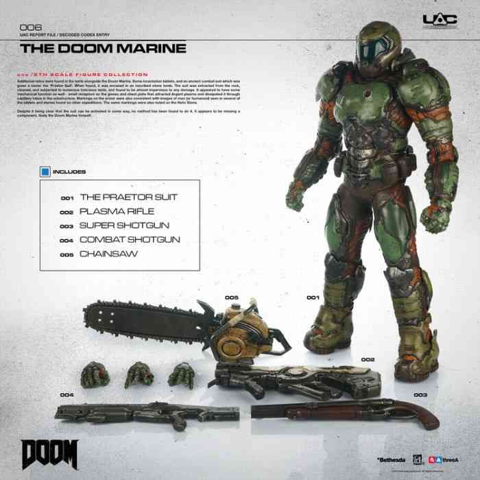 This $260 Doom Marine Action Figure is Expensive But Fantastic