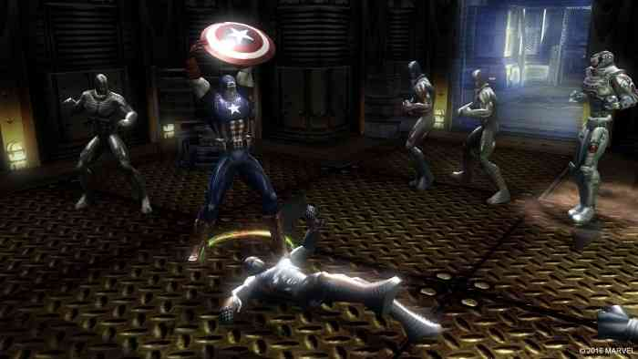 Marvel Ultimate Alliance Screen