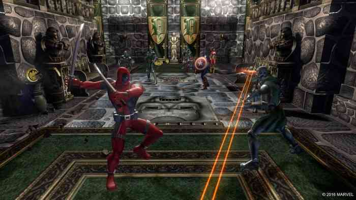 Marvel Ultimate Alliance Top Screen