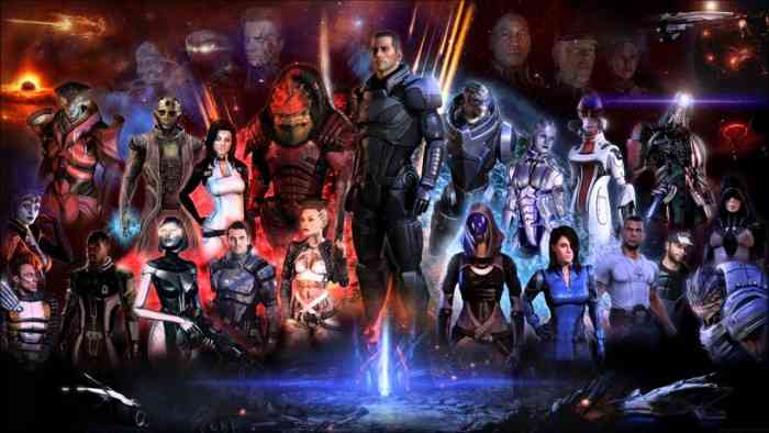 Mass Effect Trilogy Top Screen