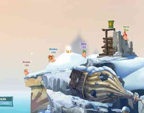 Worms W.M.D. Screen 05