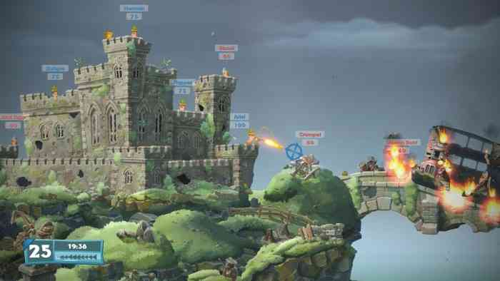 Worms W.M.D. Top Screen