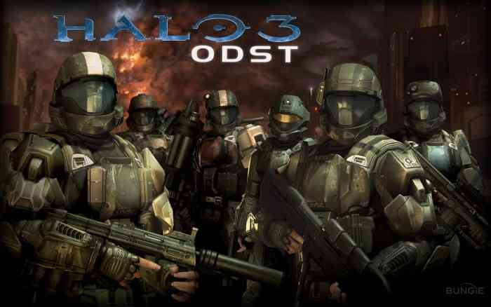 Halo 3 ODST Top Screen