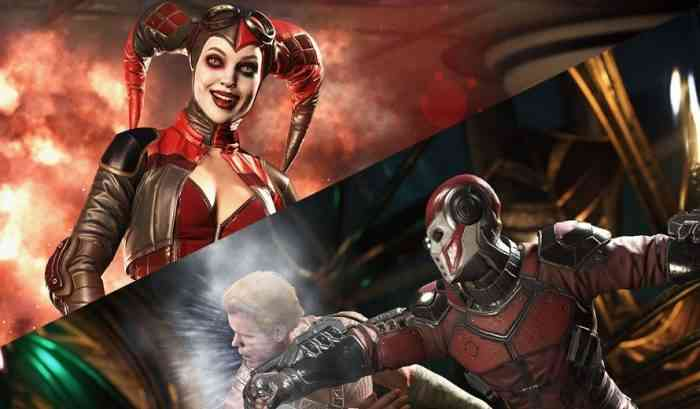 Injustice 2 Harley Quinn Deadshot