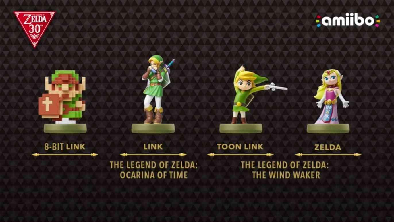 4 New Zelda Amiibo Hyrule Warriors 3ds Dlc Skyward Sword Wii U