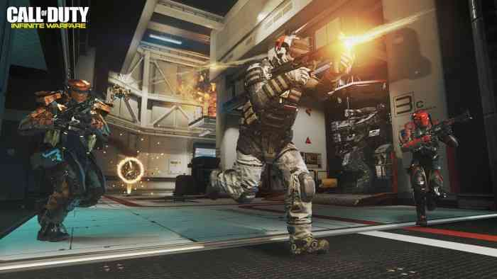CoD Infinite Warfare Top Screen