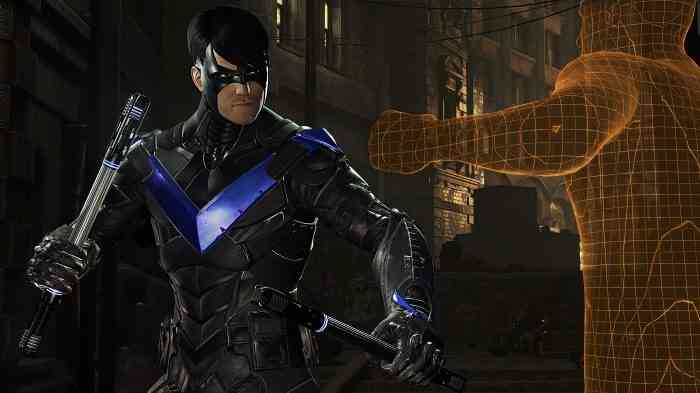 Batman Arkham VR Screen Nightwing
