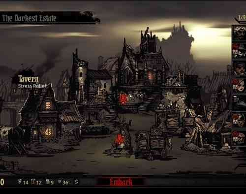 Darkest Dungeon Screen 01