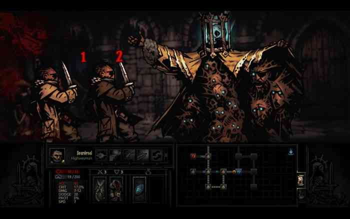 Darkest Dungeon Top Screen
