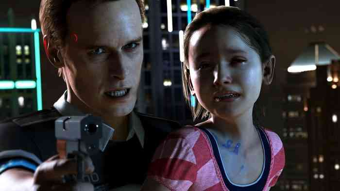 Detroit: Become Human Top Screen