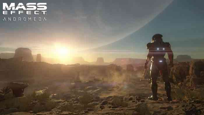 Mass Effect: Andromeda Release Date Top Screen
