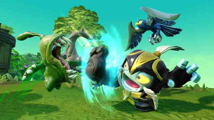 Skylanders Imaginators Top Screen