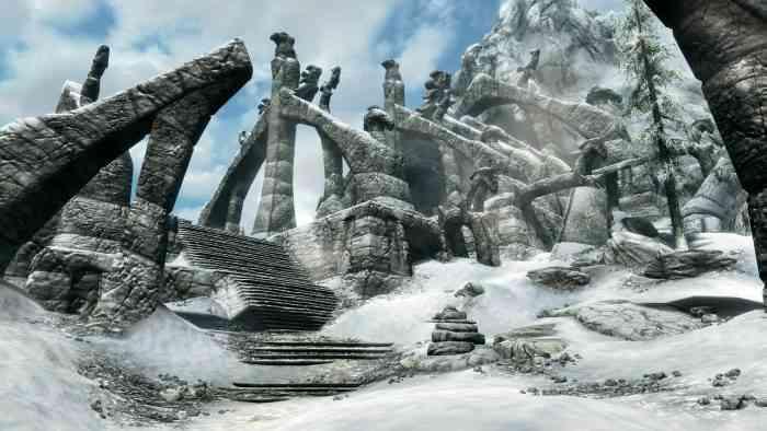 Skyrim Mods PS4 Pro 4k