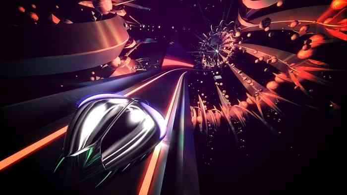 Thumper VR Top Screen