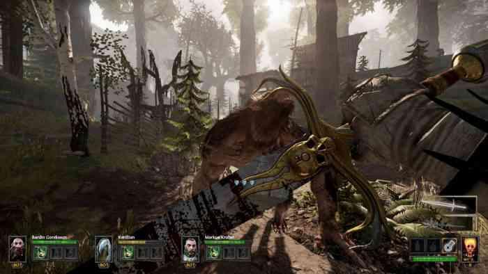 Warhammer Vermintide Top Screen
